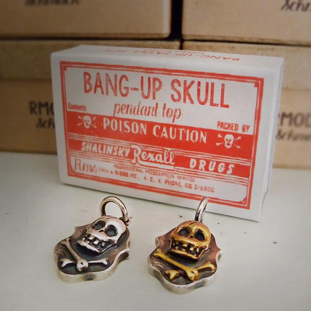 RMS BANG-UP SKULL R/T (SILVER)