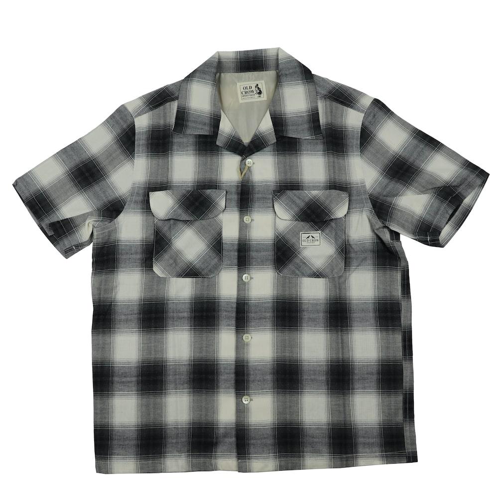 セール 40% OFF SALE オールドクロウ チェックシャツ オープンカラー 半袖 メンズ 開襟シャツ OLD CROW RODDER CHECK - S/S SHIRTS GLADHAND グラッドハンド GANGSTERVILLE ギャングスタービル WEIRDO ウィアード
