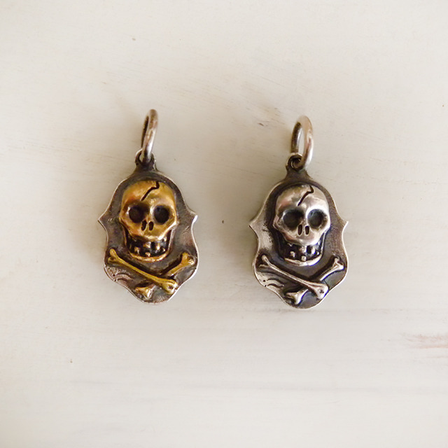 RMS BANG-UP SKULL R/T (SILVER x BRASS)