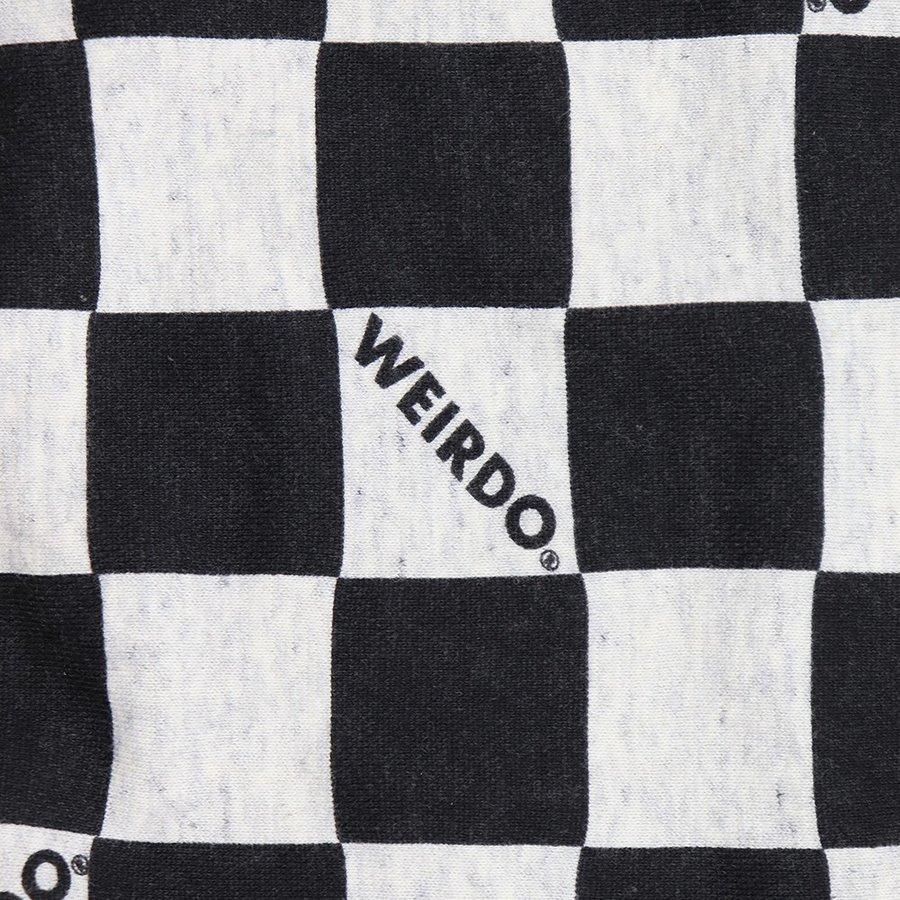 WEIRDO 79CHECKER - SWEAT HOODIE