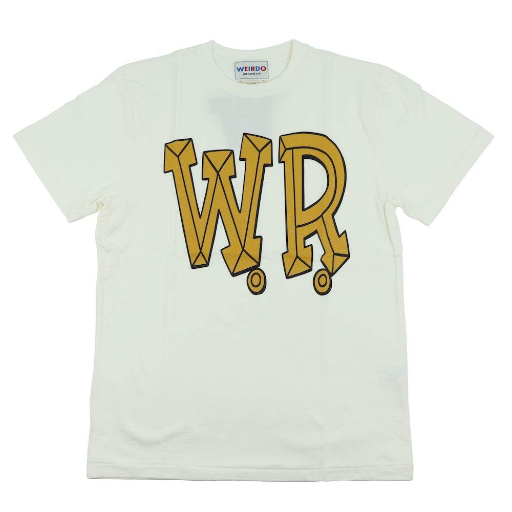 セール 40% OFF SALE ウィアード Tシャツ クルーネック 半袖 メンズ WEIRDO BIG W.R. - S/S T-SHIRTS GLADHAND グラッドハンド GANGSTERVILLE ギャングスタービル OLD CROW オールドクロウ