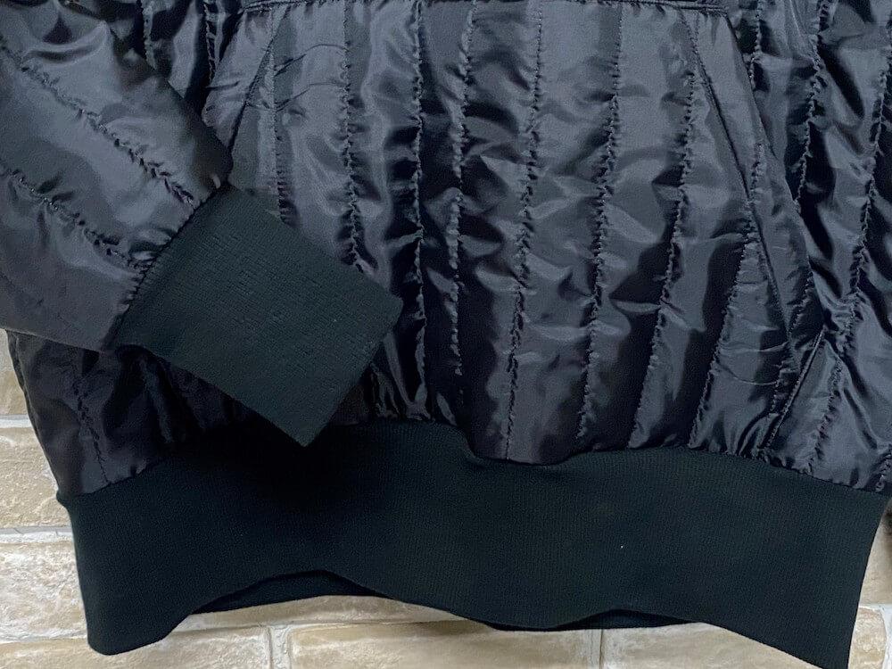 ノースノーネーム キルティングパーカー (ブラック) メンズ NORTH NO NAME QUILTING HOODIE (BLACK)