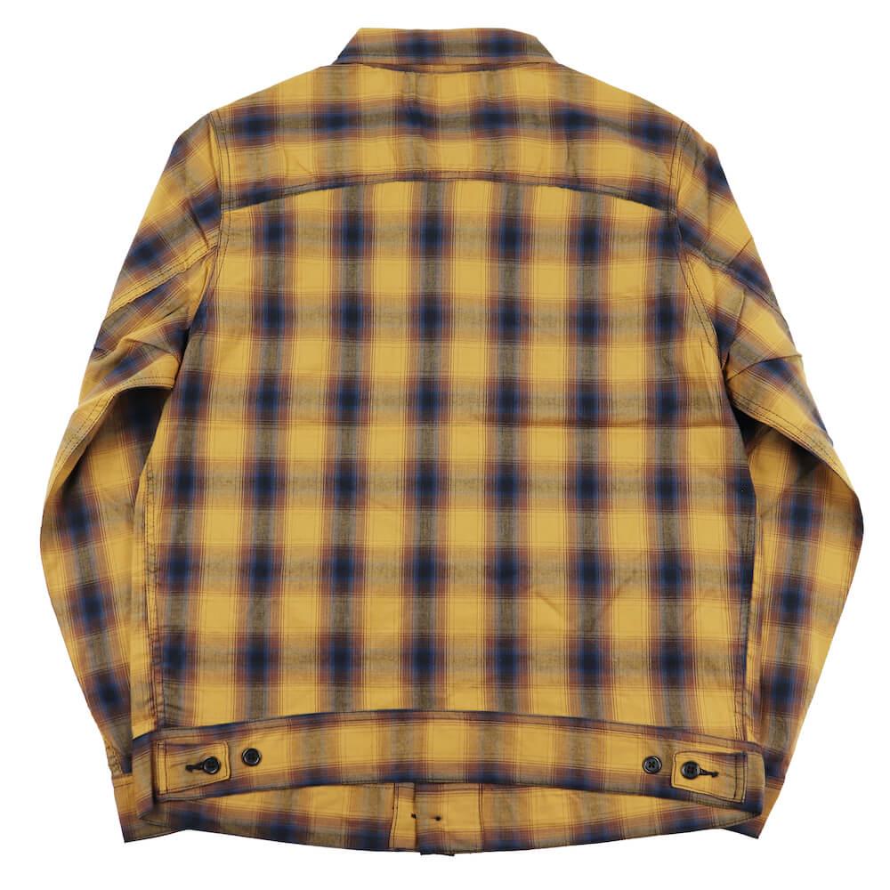 セール 40% OFF SALE ギャングスタービル チェックジャケット メンズ GANGSTERVILLE JACK - CPO CHECK JACKET GLADHAND グラッドハンド WEIRDO ウィアード OLD CROW オールドクロウ