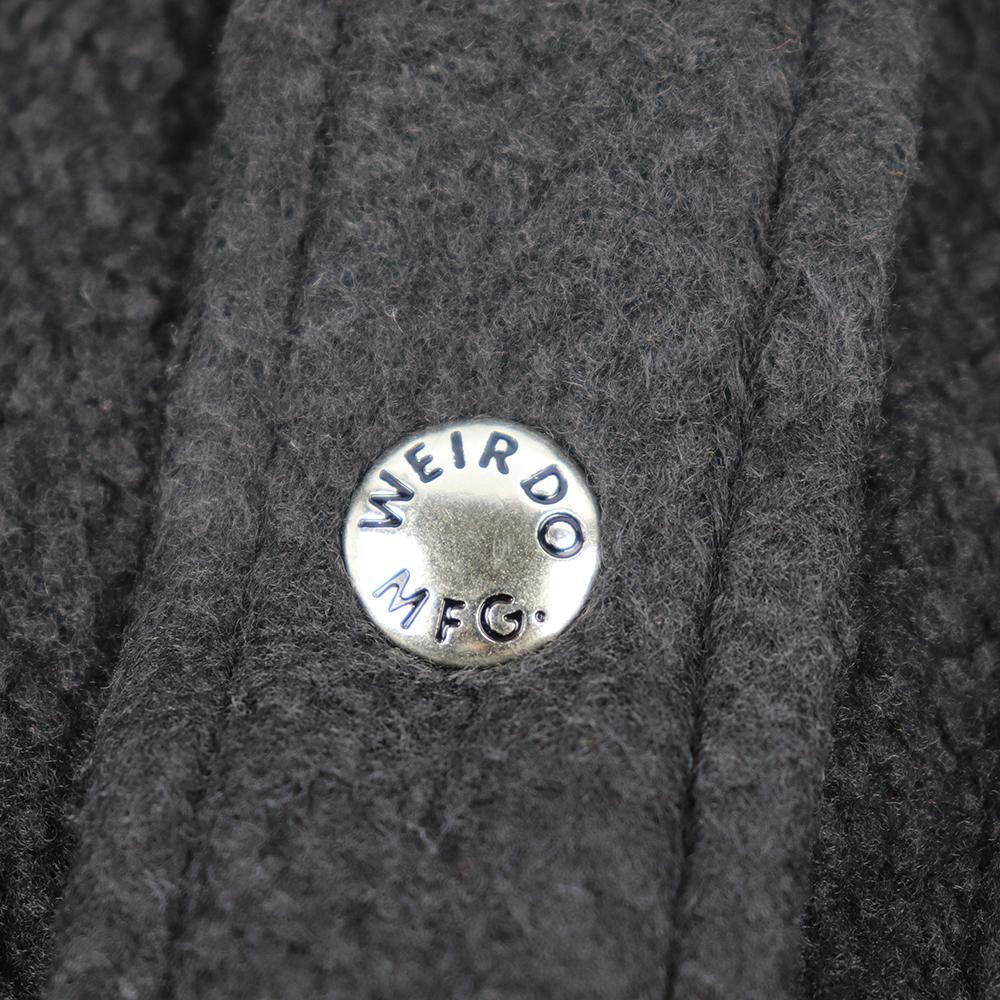 2XL:WEIRDO FLUFFY - FLEECE L/S SHIRTS