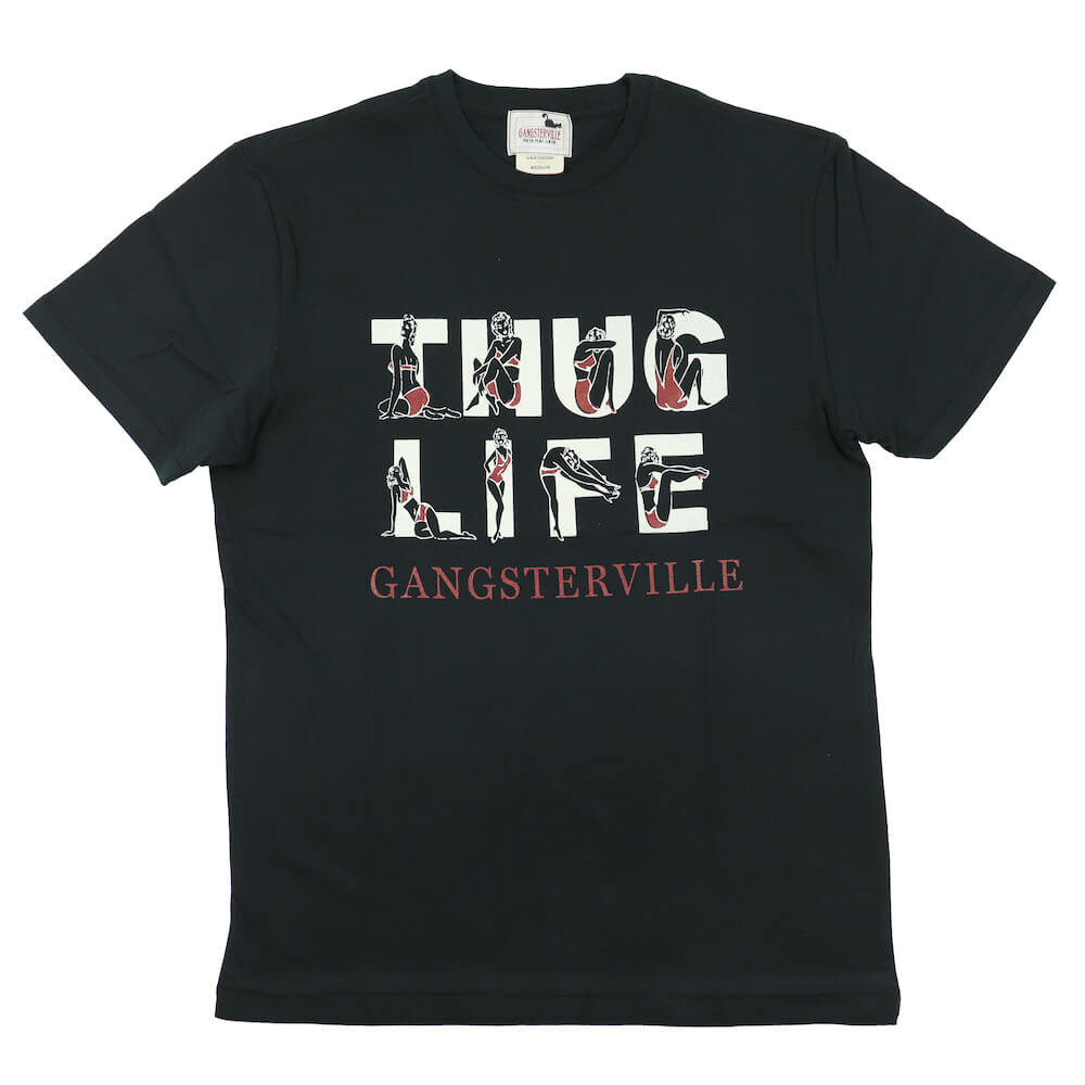 セール 40% OFF SALE ギャングスタービル クルーネック ポケット 半袖 Tシャツ メンズ GANGSTERVILLE THUG LIFE - S/S T-SHIRTS GLADHAND グラッドハンド WEIRDO ウィアード OLD CROW オールドクロウ