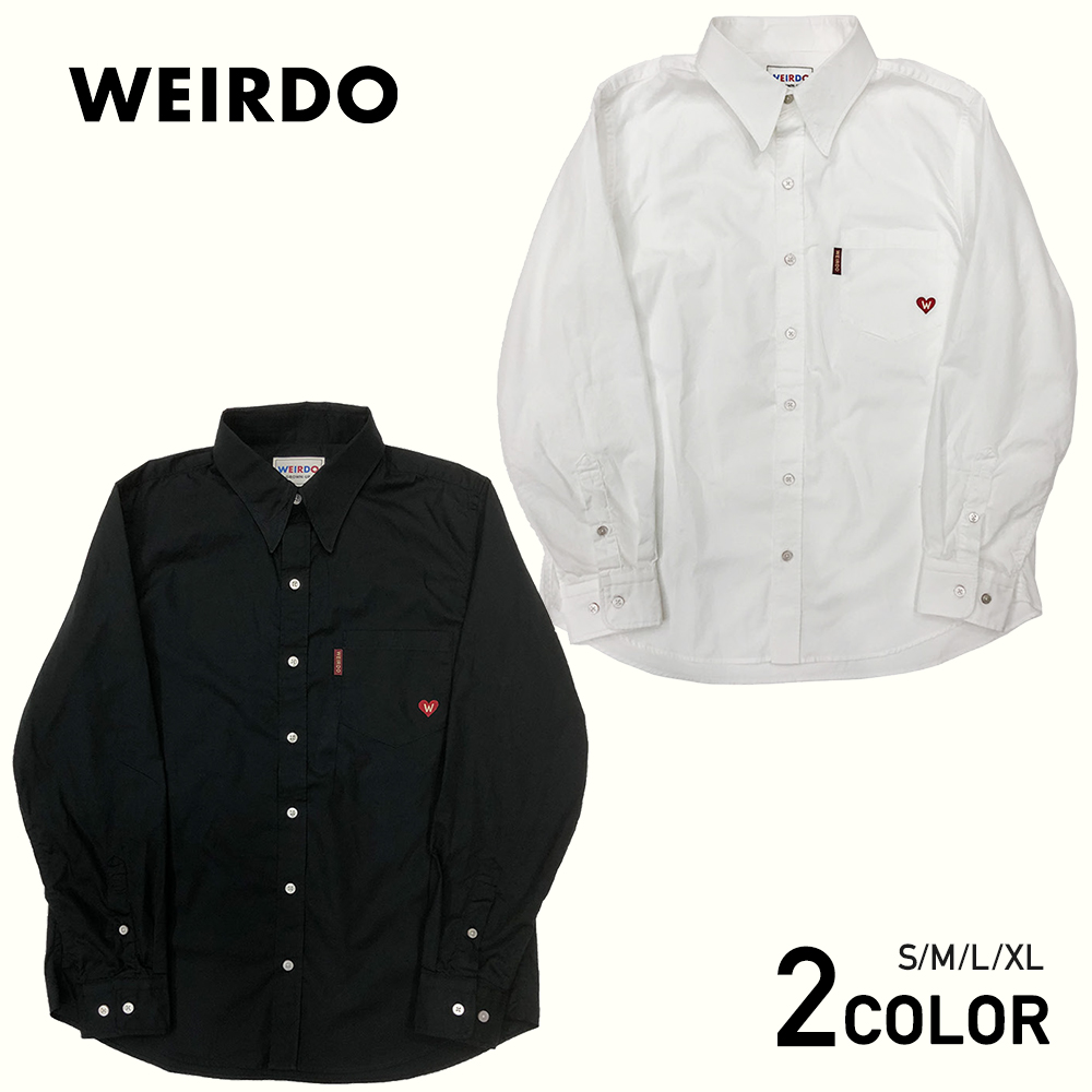 WEIRDO HEART OF WEIRDO - L/S SHIRTS