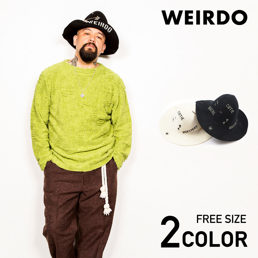 セール 40% OFF SALE WEIRDO MONSTERS - HAT