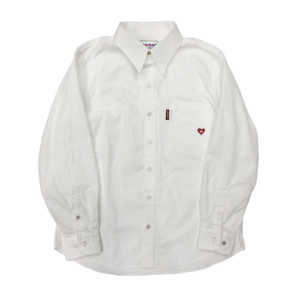 セール 40% OFF SALE 2XL:WEIRDO HEART OF WEIRDO - L/S SHIRTS