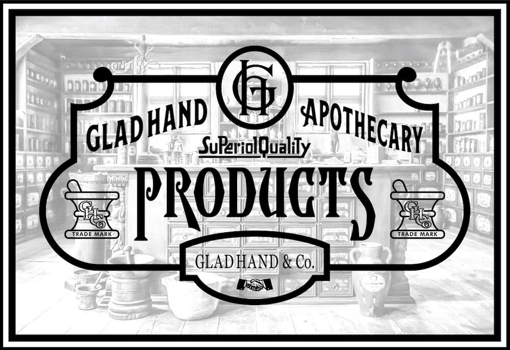 グラッドハンド アポセカリー ディフューザー & ディフューザースティック セット GLAD HAND APOTHECARY DIFFUSER & DIFFUSER STICK SET GANGSTERVILLE ギャングスタービル WEIRDO ウィアード OLD CROW オールドクロウ