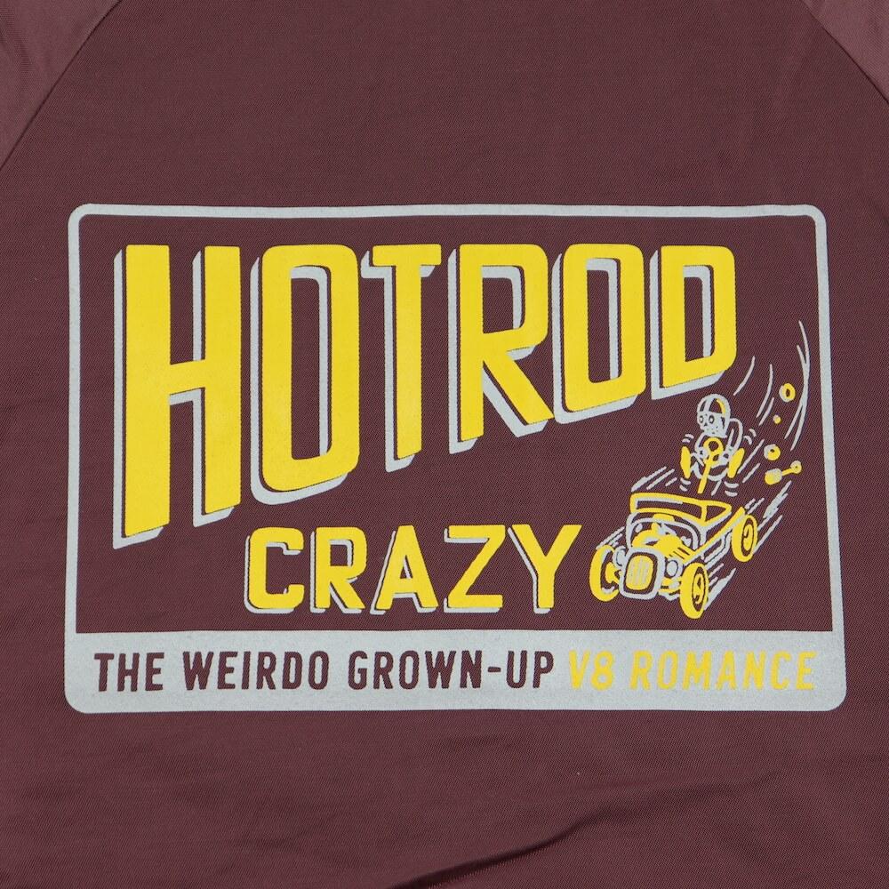 ウィアード コーチジャケット メンズ WEIRDO HOTROD CRAZY - COACH JACKET GLADHAND グラッドハンド GANGSTERVILLE ギャングスタービル OLD CROW オールドクロウ