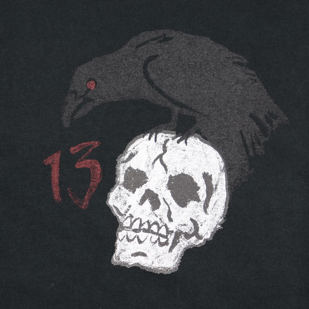 オールドクロウ クルーネック 長袖 Tシャツ ロンT メンズ OLD CROW THIRTEEN CROWS - L/S T-SHIRTS GLADHAND グラッドハンド GANGSTERVILLE ギャングスタービル WEIRDO ウィアード
