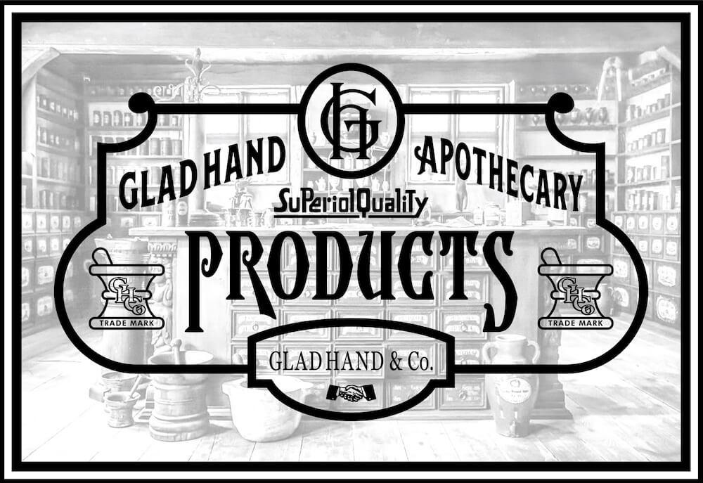 グラッドハンド アポセカリー ハンドジェル GLAD HAND APOTHECARY HAND GEL GANGSTERVILLE ギャングスタービル WEIRDO ウィアード OLD CROW オールドクロウ