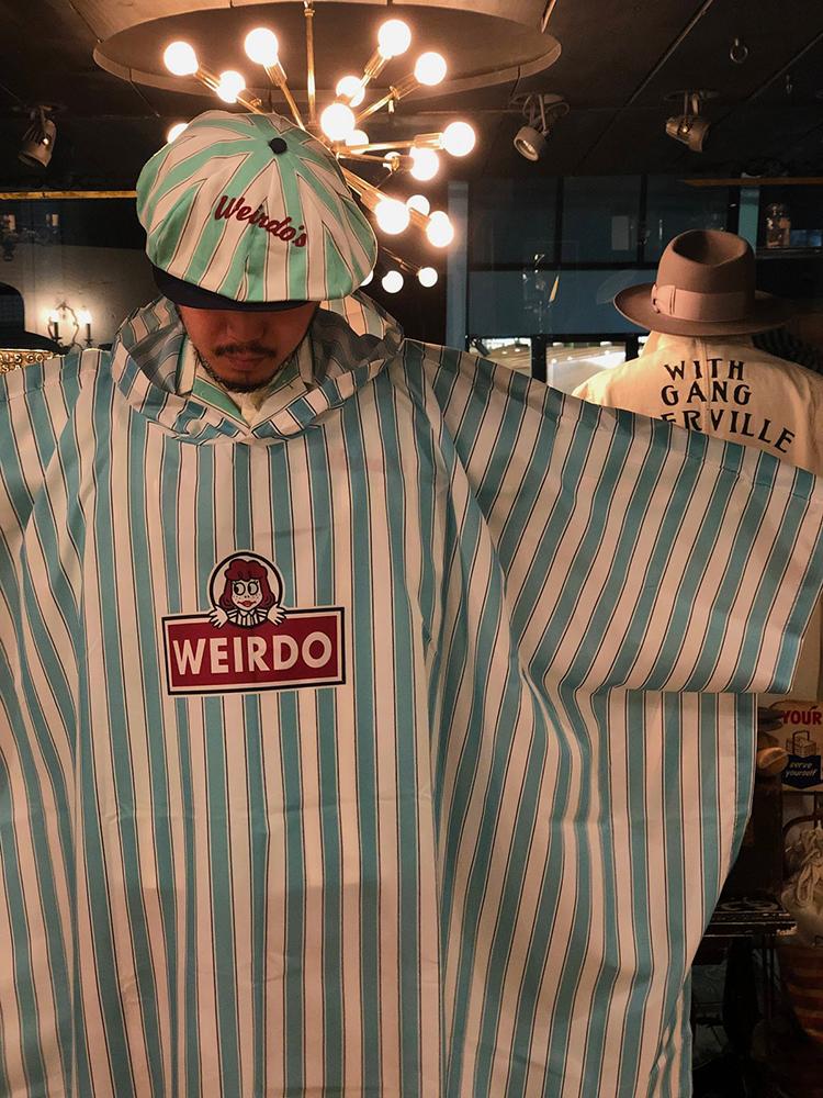 セール 40% OFF SALE WEIRDO WINDY'S - RAIN PONCHO