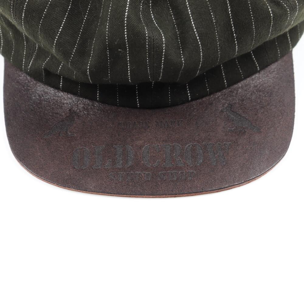 オールドクロウ ストライプ キャスケット メンズ OLD CROW OLD RODDER - CASQUETTE GLADHAND/グラッドハンド/GANGSTERVILLE/ギャングスタービル/WEIRDO/ウィアード