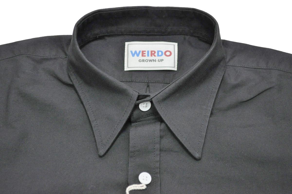 セール 40% OFF SALE WEIRDO WRD CANS - L/S SHIRTS (BLACK)