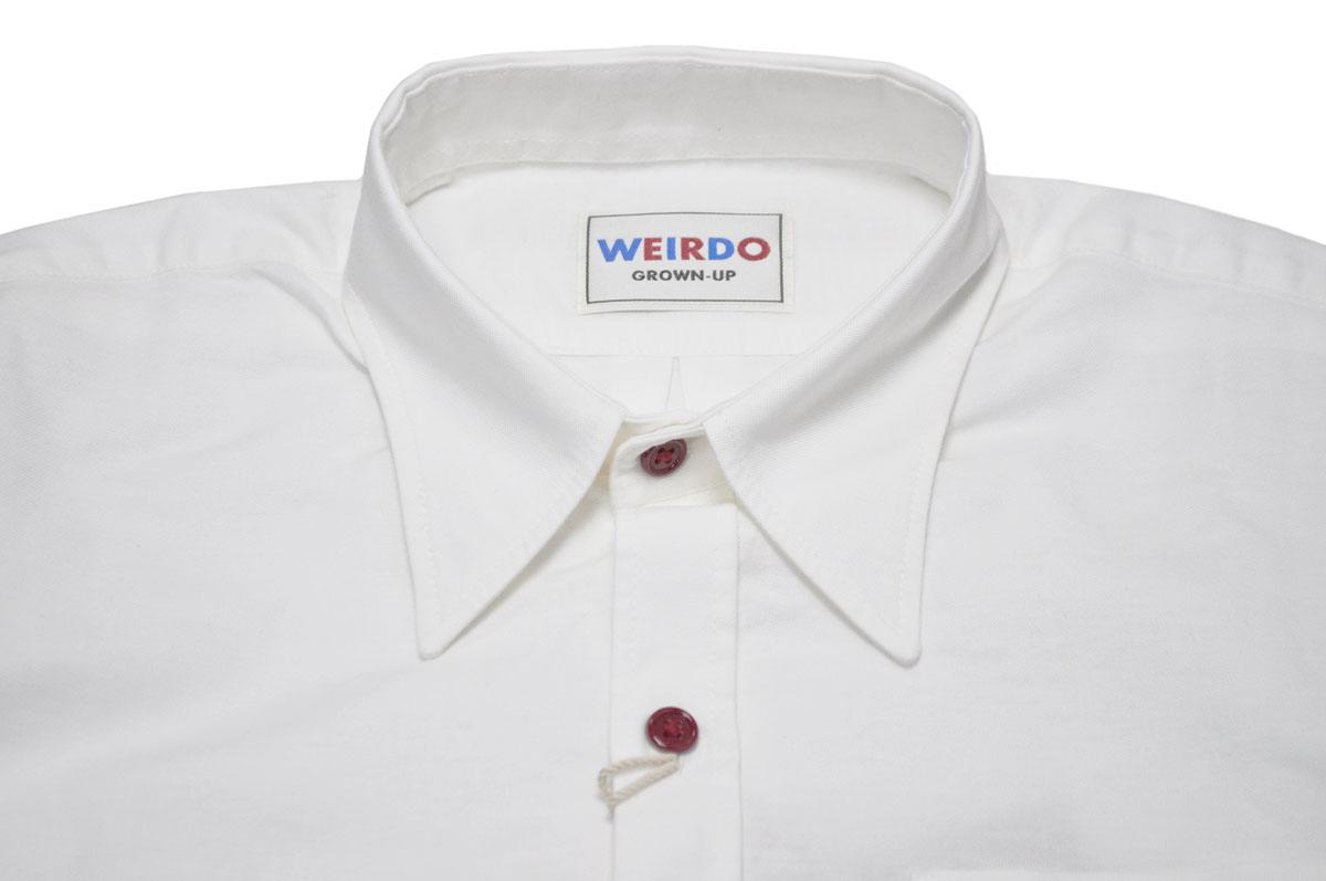 セール 40% OFF SALE WEIRDO WRD CANS - L/S SHIRTS (WHITE)