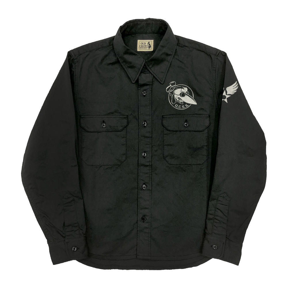 OLD CROW CROW OFFICERS - L/S SHIRTS