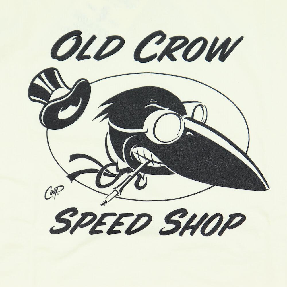 オールドクロウ クルーネック 長袖 Tシャツ ロンT メンズ OLD CROW - L/S T-SHIRTS GLADHAND グラッドハンド GANGSTERVILLE ギャングスタービル WEIRDO ウィアード