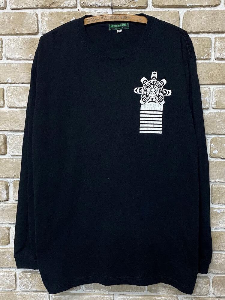 """ノースノーネーム Tシャツ ロンT 長袖 メンズ (ブラック) NORTH NO NAME """"VULTURE"""" L/S TEE (BLACK)"""