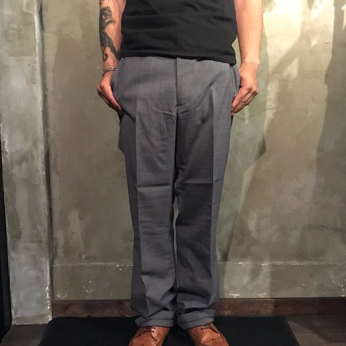 GANGSTERVILLE THUG - PANTS (GRAY)