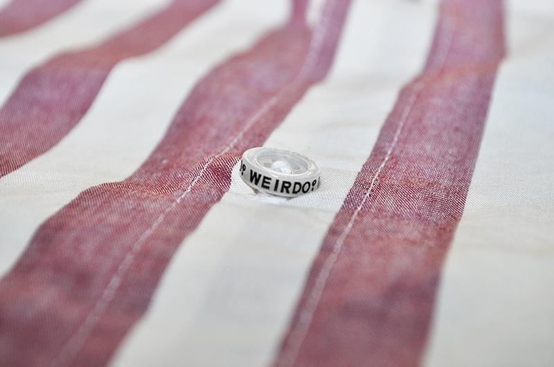 セール 40% OFF SALE WEIRDO 23 REFEREE - L/S SHIRTS (RED)