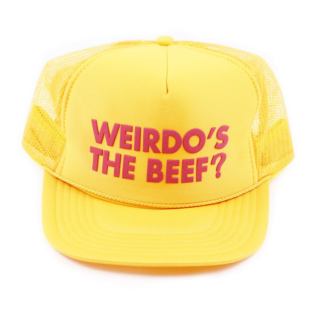 セール 40% OFF SALE WEIRDO Weirdo's the Beef? - MESH CAP