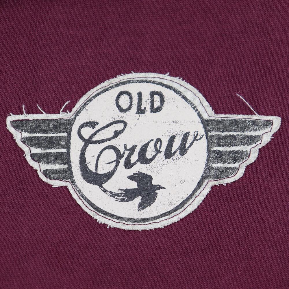 オールドクロウ スウェット パーカー メンズ OLD CROW SPEEDWAY - SWEAT ZIP UP HOODIE GLADHAND グラッドハンド GANGSTERVILLE ギャングスタービル WEIRDO ウィアード