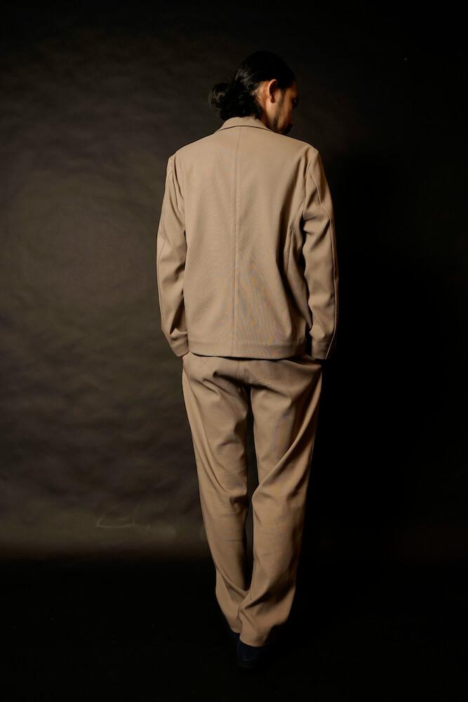 ギャングスタービル テーラードジャケット(ベージュ) メンズ GANGSTERVILLE EASY JACK - TAILORED JACKET (BEIGE) GLADHAND グラッドハンド WEIRDO ウィアード OLD CROW オールドクロウ