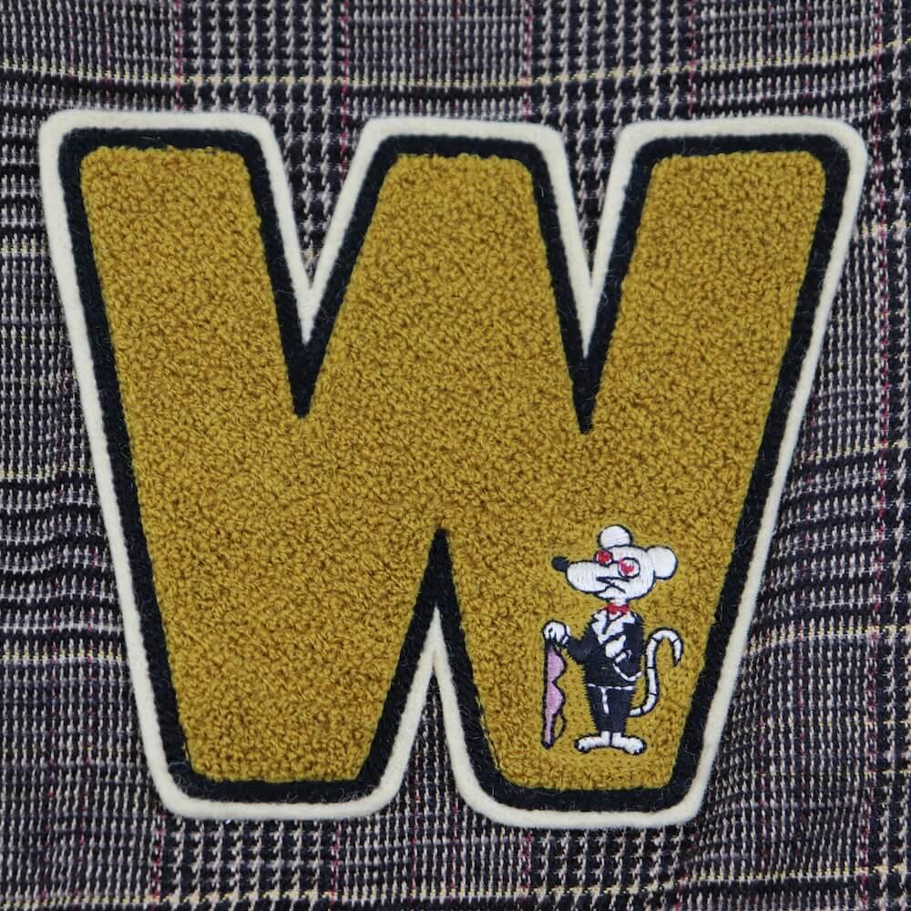 ウィアード チェック テーラードジャケット メンズ WEIRDO GROWN UP - SCHOOL JACKET GLADHAND グラッドハンド GANGSTERVILLE ギャングスタービル OLD CROW オールドクロウ