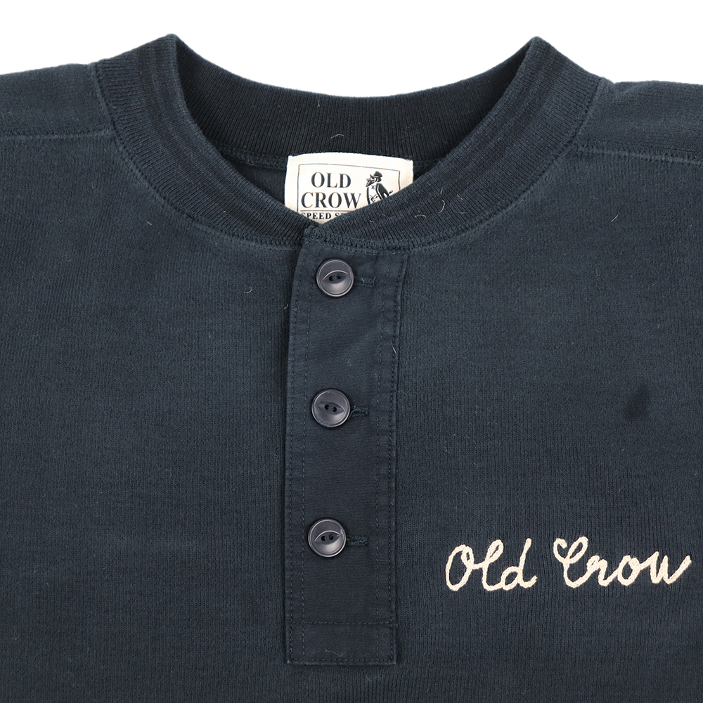 OLD CROW CROW RACER - L/S HENRY T-SHIRTS