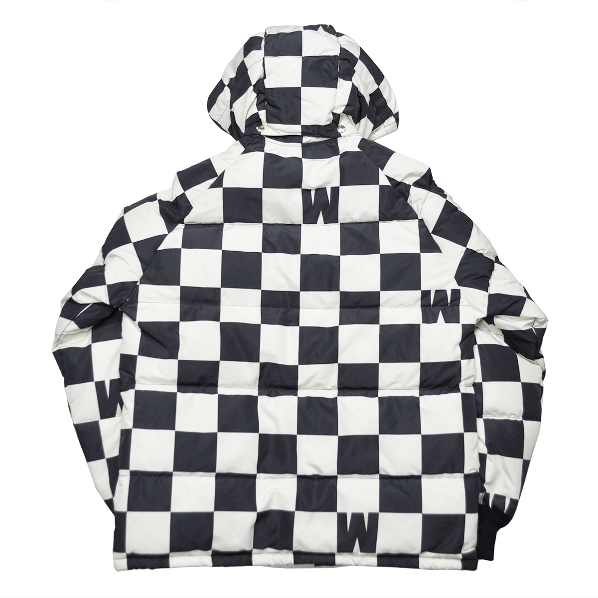 WEIRDO CHECKER - DOWN JACKET