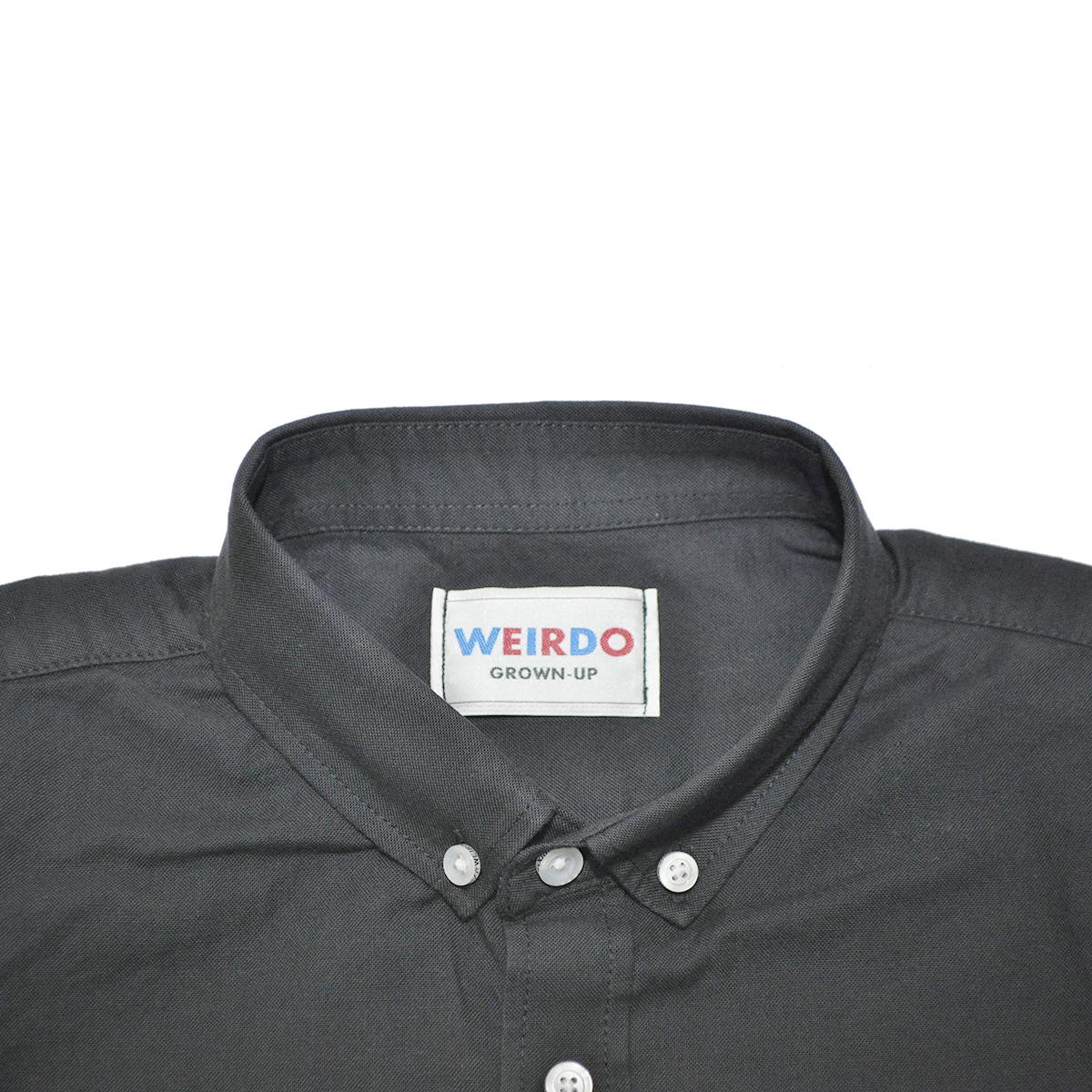 セール 40% OFF SALE WEIRDO BICYCLE PLATES - L/S SHIRTS (BLACK)