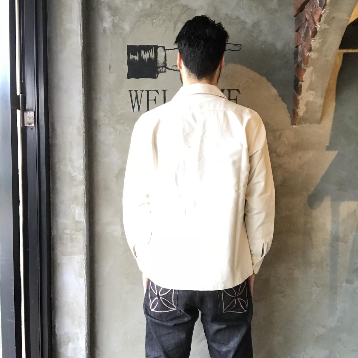 セール 40% OFF SALE 【2XL】WEIRDO YETI - L/S SHIRTS (IVORY)