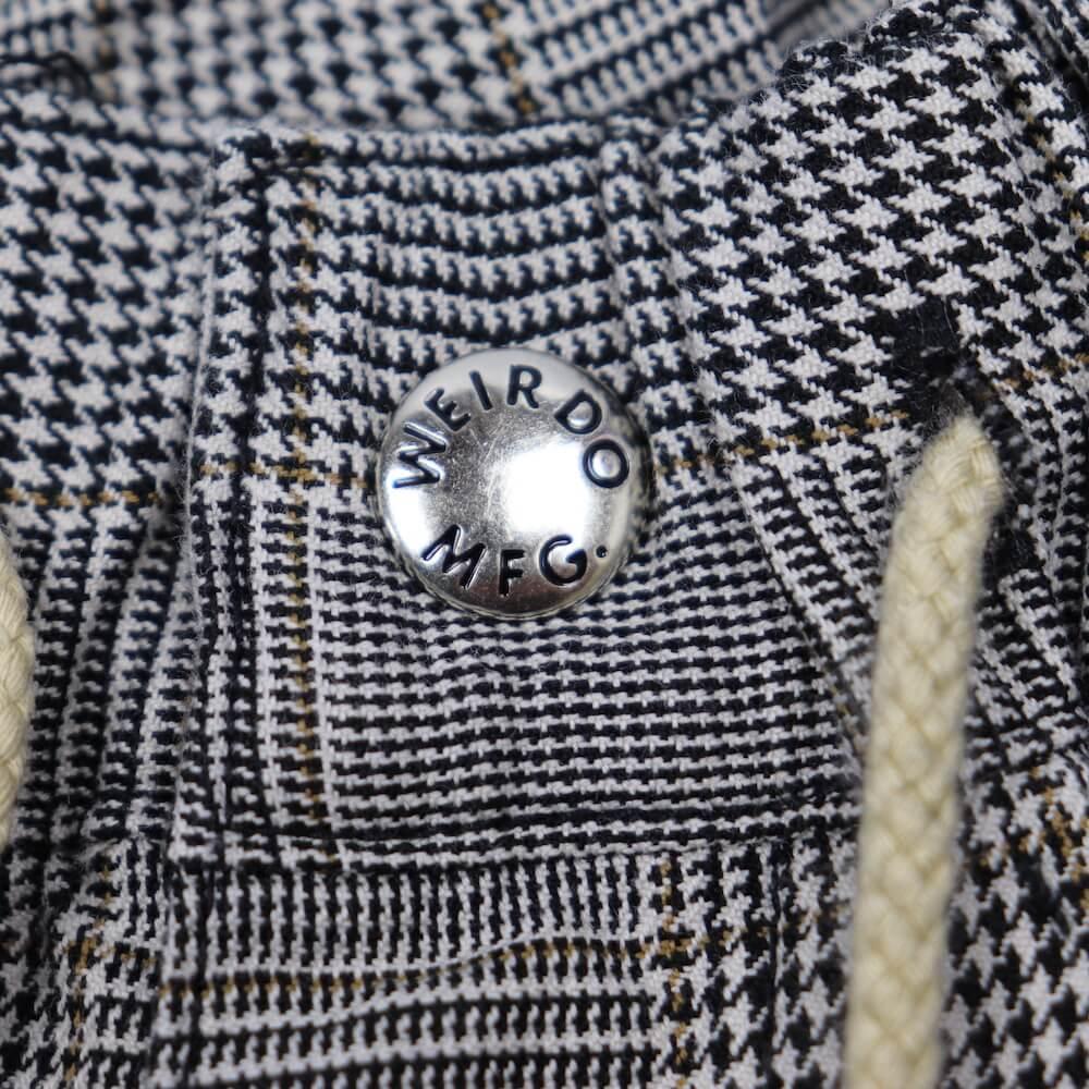 ウィアード チェック イージー ペインター パンツ メンズ WEIRDO TOOL COMPANY - CHECK EASY PAINTER PANTS GLADHAND グラッドハンド GANGSTERVILLE ギャングスタービル OLD CROW オールドクロウ