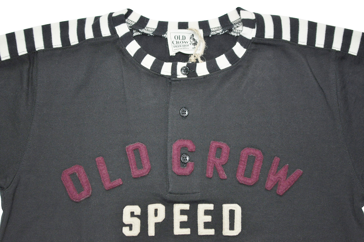 OLD CROW MOTORCYCLE - S/S T-SHIRTS (BLACK)