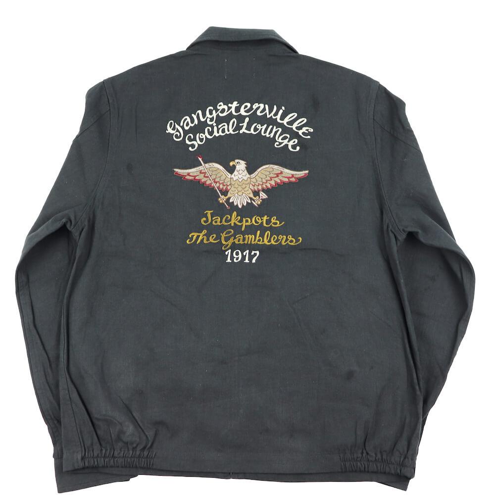 ギャングスタービル スウィングトップ ジャケット メンズ GANGSTERVILLE THE GAMBLERS - SWINGTOP GLADHAND グラッドハンド WEIRDO ウィアード OLD CROW オールドクロウ