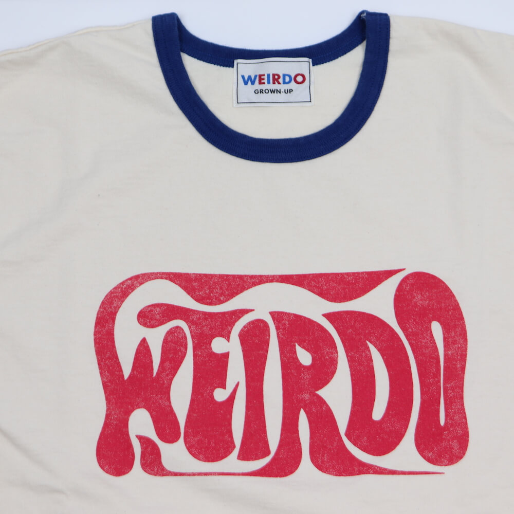 ウィアード リンガー 長袖 Tシャツ ロンT メンズ WEIRDO PORN WEIRDO - L/S RINGER T-SHIRTS GLADHAND グラッドハンド GANGSTERVILLE ギャングスタービル OLD CROW オールドクロウ