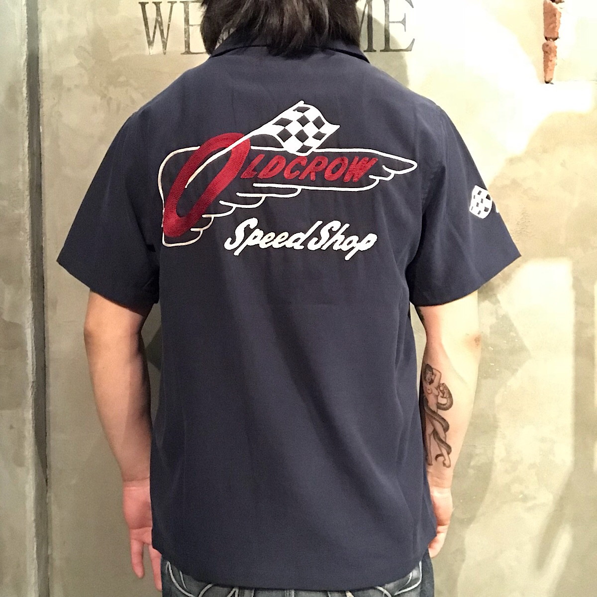 OLD CROW RACING - S/S SHIRTS (NAVY)