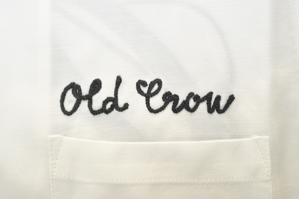 OLD CROW RACING - S/S SHIRTS (WHITE)
