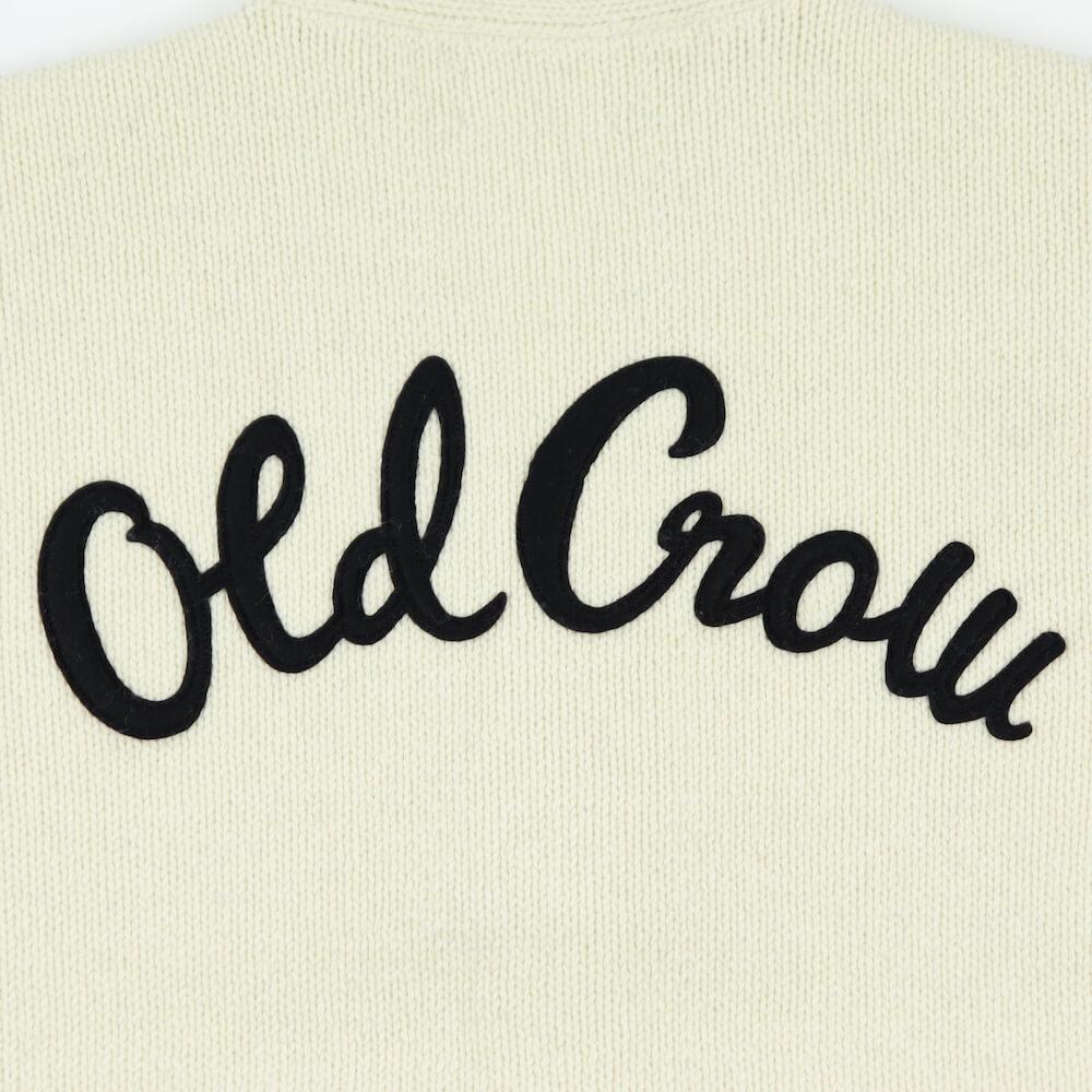 オールドクロウ カーディガン メンズ ニット OLD CROW FLAG GIRL - CARDIGAN GLADHAND/グラッドハンド/GANGSTERVILLE/ギャングスタービル/WEIRDO/ウィアード