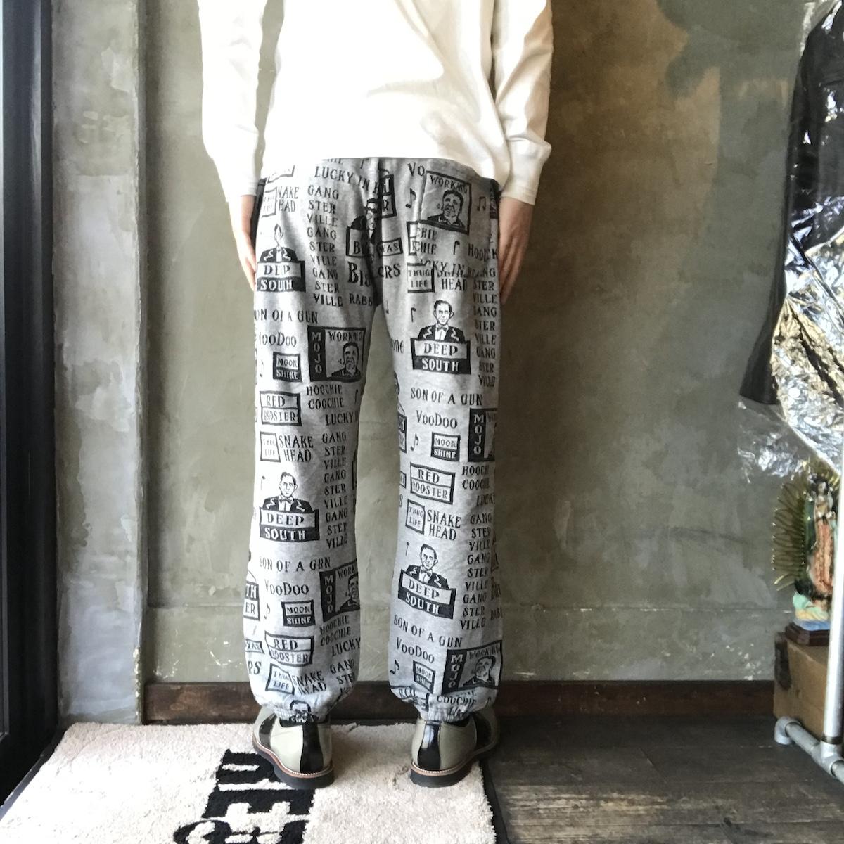 GANGSTERVILLE MOJO- SWEAT PANTS (GRAY)
