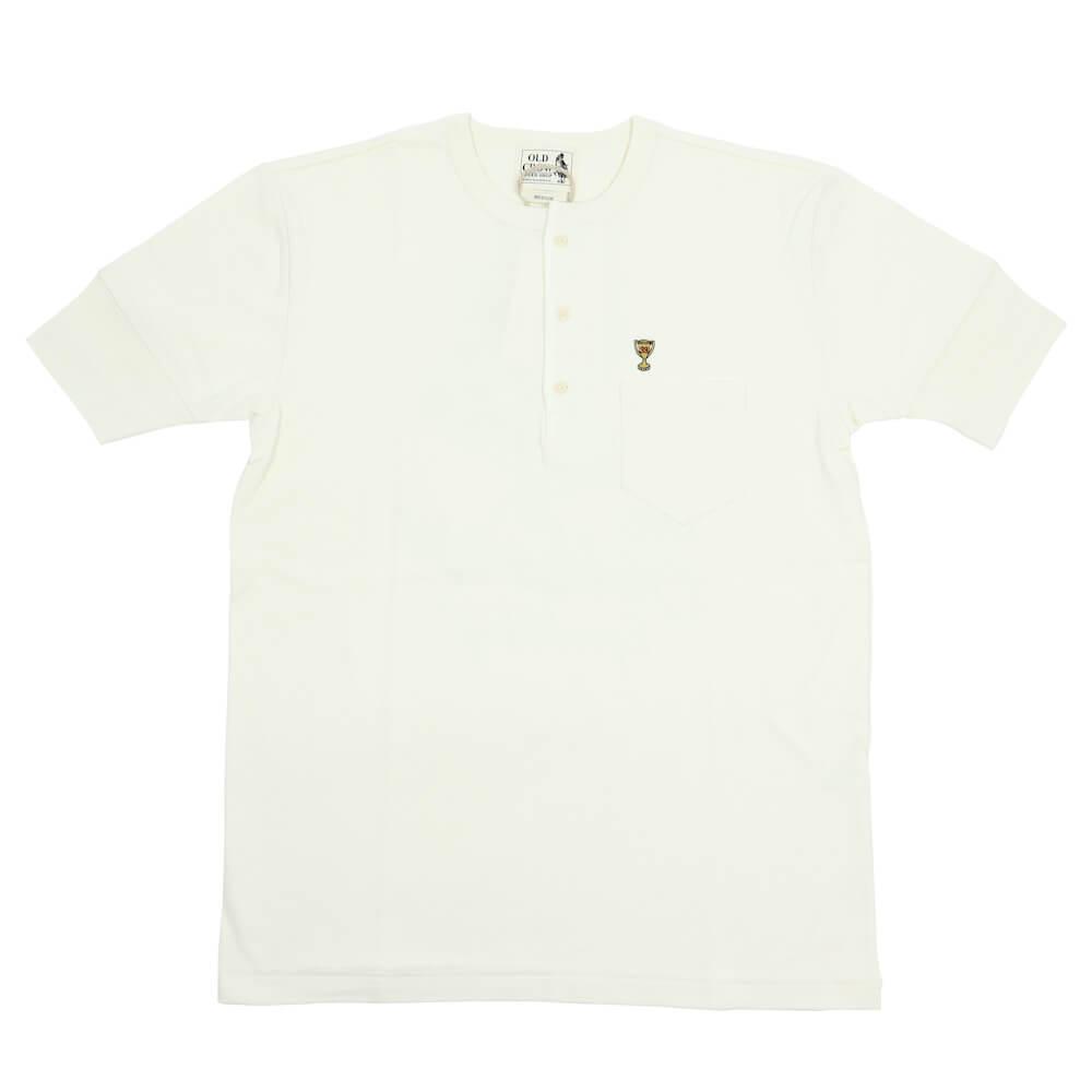 オールドクロウ ヘンリーネック 半袖Tシャツ メンズ OLD CROW CHAMPIONS - S/S HENRY T-SHIRTS GLADHAND グラッドハンド GANGSTERVILLE ギャングスタービル WEIRDO ウィアード