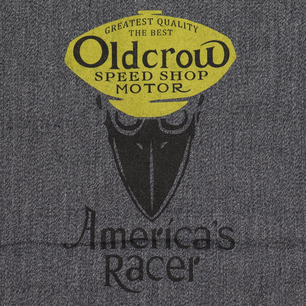 オールドクロウ シャツ 半袖 メンズ プルオーバー ハーフジップ  OLD CROW AMERICA'S RACER - S/S PULLOVER SHIRTS GLADHAND グラッドハンド GANGSTERVILLE ギャングスタービル WEIRDO ウィアード