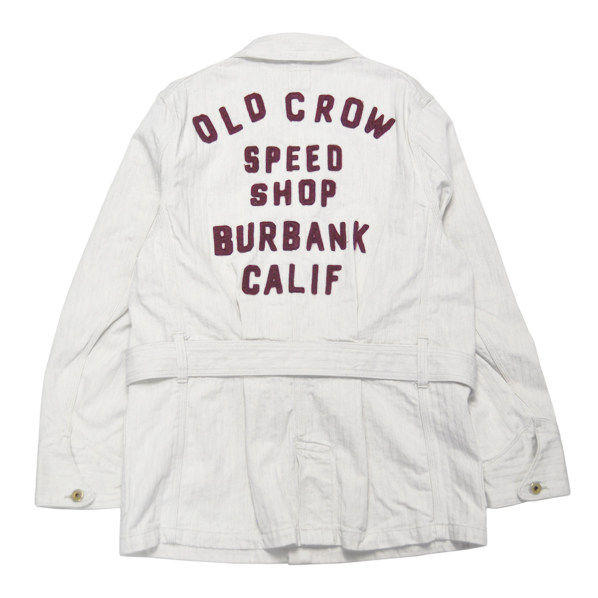 OLD CROW SPEED SHOP - COAT (IVORY)