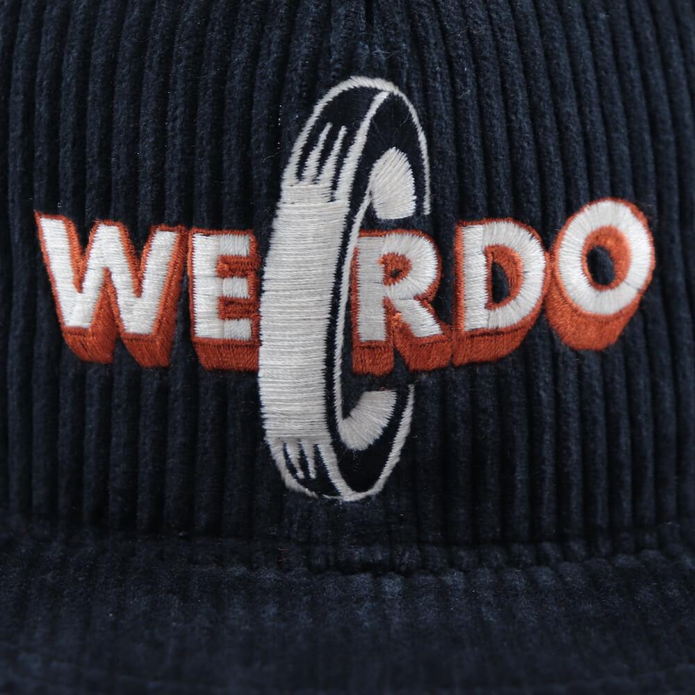 ウィアード コーデュロイキャップ メンズ WEIRDO NON SKID - CORDUROY CAP GLADHAND グラッドハンド GANGSTERVILLE ギャングスタービル OLD CROW オールドクロウ