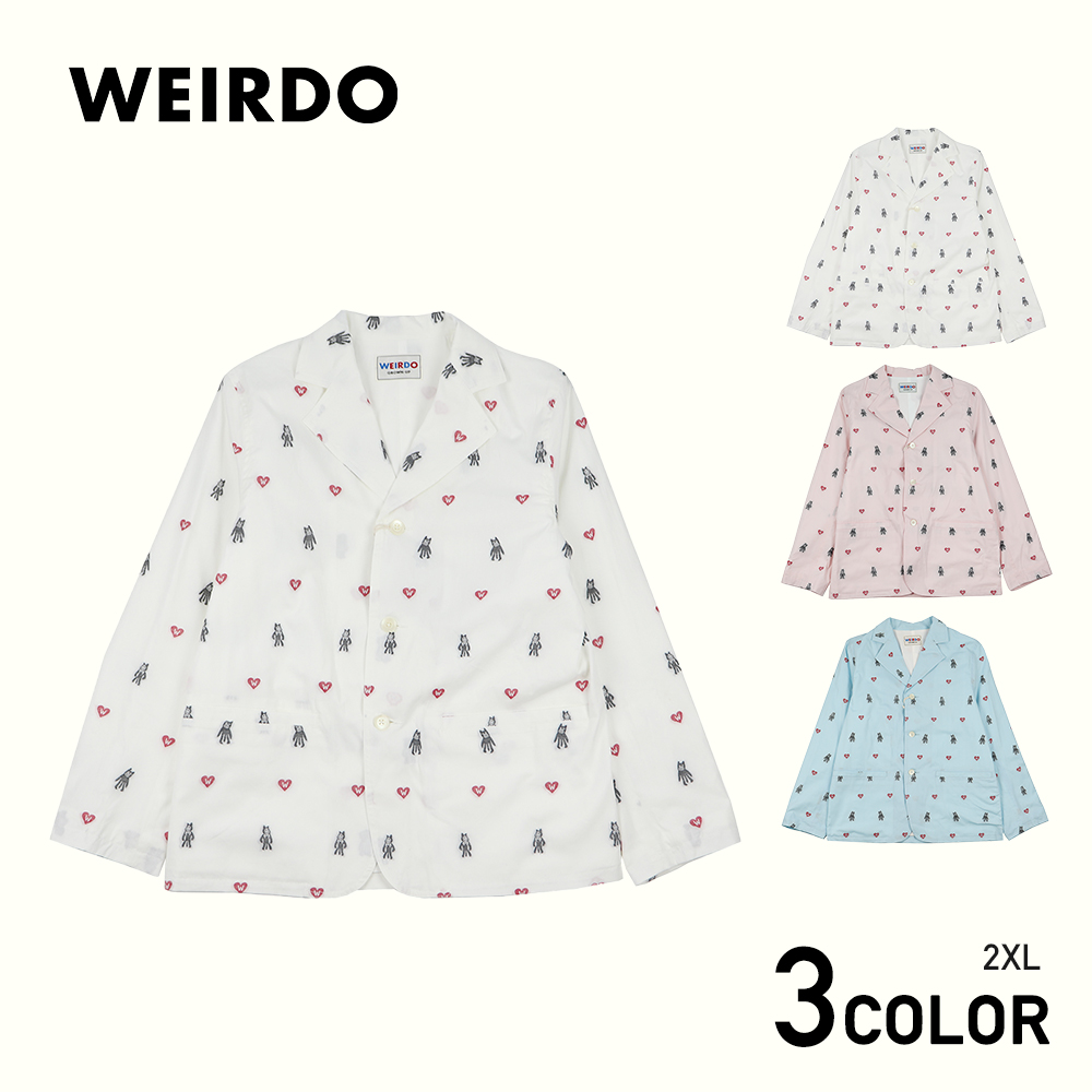 2XL:WEIRDO FOLLIES - JACKET