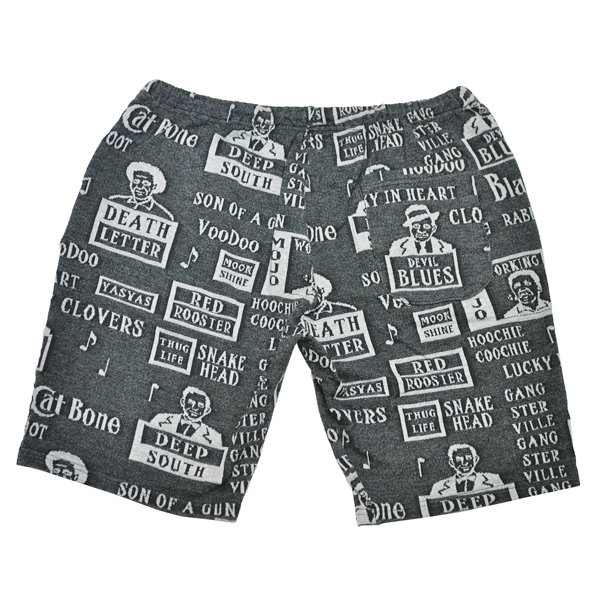 GANGSTERVILLE MOJO - SHORTS (BLACK)