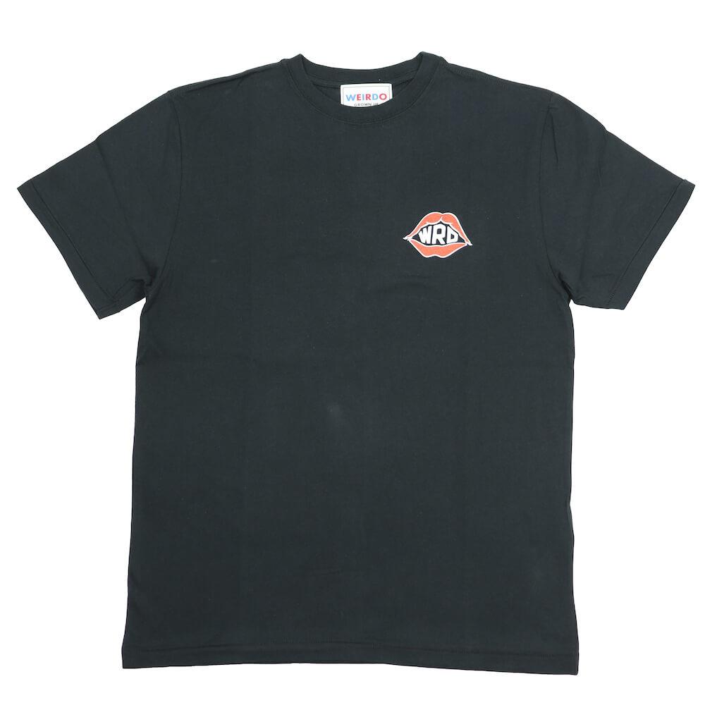 ウィアード Tシャツ クルーネック 半袖 メンズ WEIRDO PORN WEIRDO AMERICA - S/S T-SHIRTS GLADHAND グラッドハンド GANGSTERVILLE ギャングスタービル OLD CROW オールドクロウ