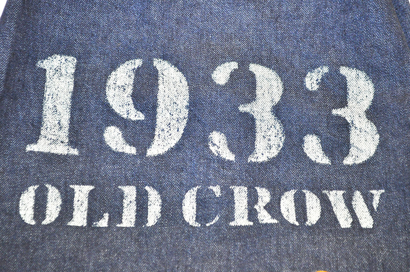 OLD CROW  1933 - LAUNDRY BAG (M)