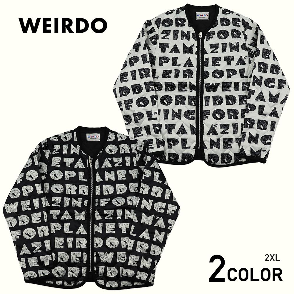 2XL:WEIRDO WEIRDO PLANET - JACKET